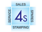 Sales, Spares, Service, Stamping