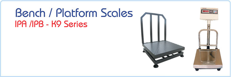 Bench / Platform Scales - IPA / IPB - K9 Series