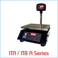 Table Top Scales ITA / ITB Series - A Series