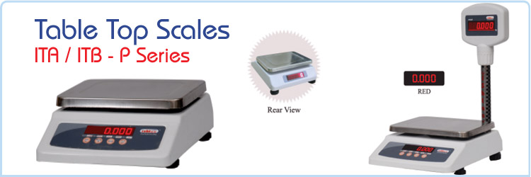 Table Top Scale - ITA / ITB - P Series